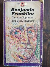 The Autobiography and Other Writings by Benjamin Franklin (paperback)store#4977C