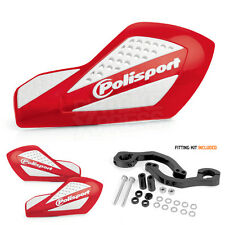 Polisport Motocross Enduro Free Flow Pro  Hand guards Honda CRF CR Red