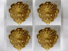ORNATE FOUR DECORATIVE FURNITURE MOULDINGS / MIRROR MOULDINGS ANTIQUE GOLD RESIN