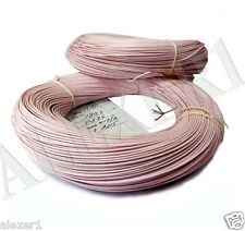 10m / 33 ft 0.75mm² / 18 AWG  Military Russian Teflon PTFE Wire MGTF