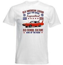 VINTAGE AMERICAN CAR PLYMOUTH SUPERBIRD - NEW COTTON T-SHIRT