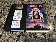 House IV Rare VHS! 1991 Psycho Big Wednesday Carrie