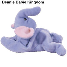 Ty Beanie Baby * PEANUT * The Light Blue Body Elephant