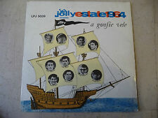 "JOLLY ESTATE 1964""A GONFIE VELE-disco 33 giri JOLLY 1964-Tenco/Hardy/Mola/LEALI"