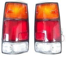 ISUZU PICK-UP KB42 1995-  Rear Tail Signal Lights Lamp 1Set LEFT + RIGHT Black