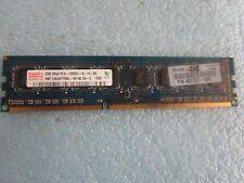Hewlett Packard P/N: 497157-B88.  2GB PC3-10600U-9-10-B0.    Good Used Stock