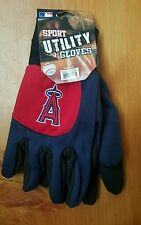 MLB Los Angeles Angels Embroidered Logo Sport Utility Gloves (Red/Blue)