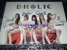 D-Holic Without You Dark With Dignity Digital Single Autographed Signed Promo CD