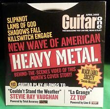 Guitar One April 2005 Video CD New Wave of American Heavy Metal Lamb of God BLS