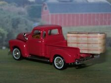 1950 50 CHEVY 3100 PICKUP TRUCK 1/64 SCALE DIECAST COLLECTIBLE MODEL - DIORAMA