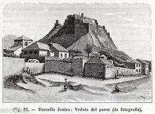 ROCCELLA IONICA. Amfissa. Costa dei Gelsomini. Reggio Calabria.Magna Grecia.1900
