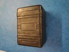 EXIDE TYPE RUBBER BATTERY BOX   AJS BSA ENFIELD NORTON TRIUMPH VINCENT