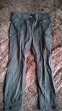 river island black molly cargo pants jeans 16