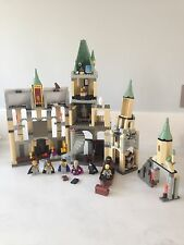 Lego Harry Potter Hogwarts Castle Complete 4709 Rare With All Minifigures Set
