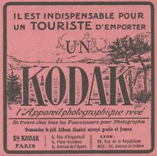 Z8283 Appareil photographique KODAK - Pubblicità d'epoca - 1914 Old advertising