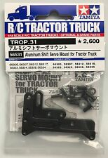 Tamiya 56531 Aluminum Shift Servo Mount for Tractor Truck (Scania/MAN) NIP