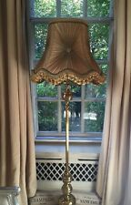 Vintage/retro/Victorian/Downton Abbey/traditional/ French Chiffon Gold Lampshade