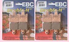 Conjuntos de 2x FA417/4HH Delantero Pastillas De Freno Ebc Kawasaki Z Z750 2011-12 y Z1000 2007-09