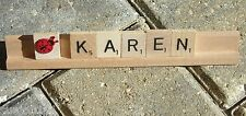 Scrabble Tray Nameplate Name Plate Custom Made Personalized Personalize