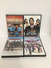 Lot Of 4 Comedy DVDs Barber Shop Soul Plane Death At A Funeral ++ Free Shipping