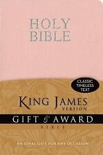 THE HOLY BIBLE KING JAMES VERSION OLD AND NEW TESTAMENTS / PINK