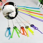 Soft Bird Parrot Pet Adjustable Harness Leash hauling cable Anti-bite Multicolor