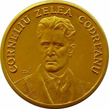f465 Romania Zelea Codreanu Iron Guard Congress Madrid 1967 Spain 750 GOLD Medal