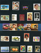 2011 Complete Year Set of 104 Different Commemorative Stamps - B4 Tiger Free