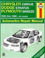 Chrysler Cirrus, Dodge Stratus, Plymouth Breeze Automotive Repair Manu-ExLibrary