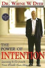 The Power of Intention a paperback book by Dr. Wayne W. Dyer FREE SHIPPING