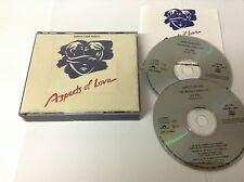 Aspects of Love 2 CD 1989 NEAR MINT W BKLET ANDREW LLOYD WEBBER