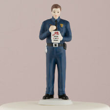 Love Citation Policeman Police Officer Cop Wedding Cake Topper CUSTOMIZATION