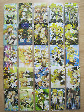 Vocaloid Len and Rin Anime / Manga Holographic Stickers  (  Set of 25 )