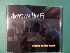 American Hi Fi 'Flavor of the Weak' CD (2001) Collectable Promotional Copy