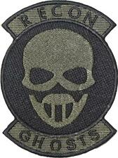 Tom Clancy's Ghost Recon Green Patch with Rocker Sew / Iron-on 12.75cm