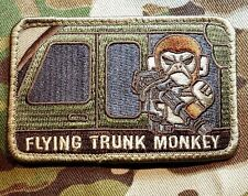 FLYING TRUNK MONKEY US ARMY USA MILITARY ISAF MULTICAM HOOK & LOOP PATCH