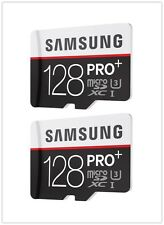 2PC Samsung EVO Plus 128GB UHS-1 Class 10 80MB/s Micro SD SDXC Memory Card 128G#