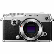 OLYMPUS PEN-F Digital Camera Body Only Silver (Comes in Olympus Lens Kit Box)