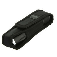 FOR Ultrafire Cree LED Flashlight Torch Nylon Holster Holder Belt Pouch Case Bag