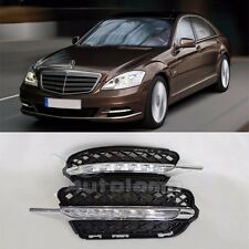 Daytime Running Light DRL LED Day Lights For Benz W221 S-Class 2009~2012