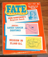 Fate Magazine April 1956*Vg+*Flying Saucers Ufo Child Zombie Loch Ness Monster