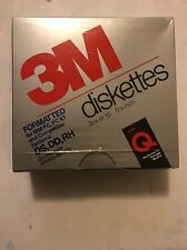 "DS, DD, RH, 5-1/4"" Floppy Disks/Diskettes/Discs Sealed Pack of 10 Count NOS"