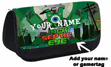 Personalised Jack Septic Eye Gaming Pencil Case Gift Idea You tube hero