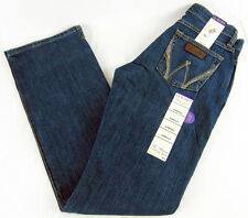 Womens Wrangler Q-Baby Mid Rise Boot Cut WRJ30TR Stretch Jeans Size 5/6 x 34
