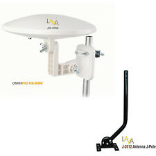 LAVA OmniPro HD-8000 Omni-Directional HDTV Antenna + J-Pole Universal Mount