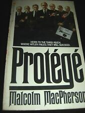 Protégé by Malcolm MacPherson Golden Apple Edition Dec 1984 Paperback