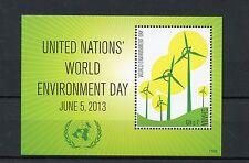 Ghana 2013 MNH mondiale delle Nazioni Unite ambiente giorno IV S / S mulini a vento