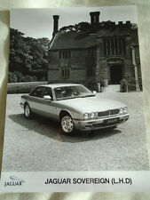 Jaguar Sovereign LHD press photo brochure c1997