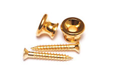 Gibson Style Guitar Strap Buttons Endpins • Gold