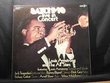 Louis Armstrong - Satchmo Live in Concert    2 LPs